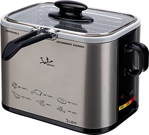 Jata FR326E Non-Stick Ceramic Coating Deep Fat Fryer, 1 Litre, 1000 W
