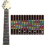 Ccmart chitarra fretboard note decalcomanie fret adesivi per chitarra acustica elettrica pratica Learner principiante