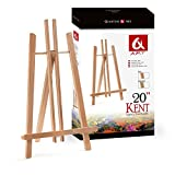 BEECH WOOD 500MM ARTIST EASEL FOR ARTWORK DISPLAY