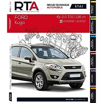 RTA B799 Ford Kuga I(03/2008>12/2012) 2.0TDCI 136ch