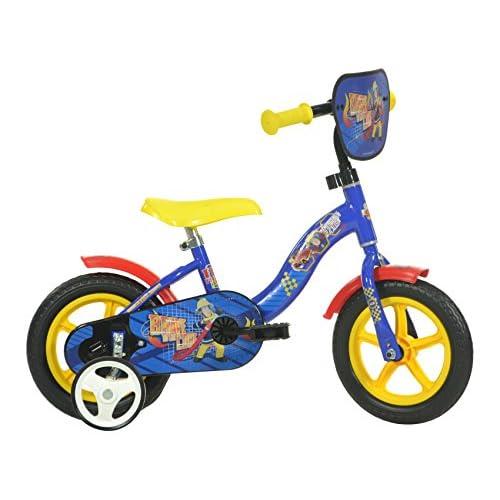 51uoT5kxCuL. SS500  - Dino Bikes 108L-SIP 10-Inch Fireman Sam Bicycle