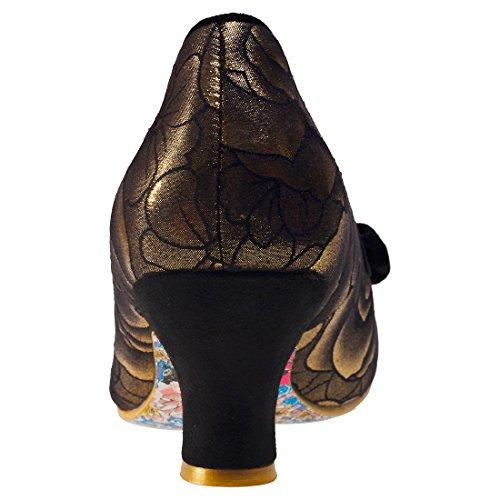 Irregular ChoiceDazzle Razzle - Scarpe con Tacco donna Gold Black
