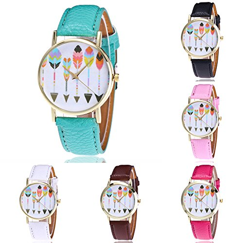 overdose-women-faux-leather-band-arrow-pattern-quartz-wrist-watch