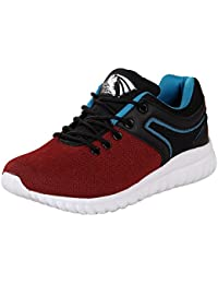 Zappy Men Red & Black Sports Shoes - 7 UK