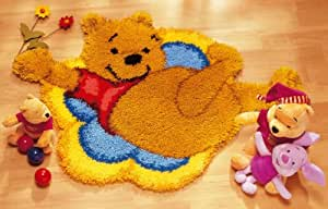 tapis point noué winnie collection vervaco