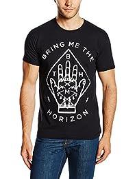 Bring Me The Horizon Men's Diamond Hand Short Sleeve T-Shirt