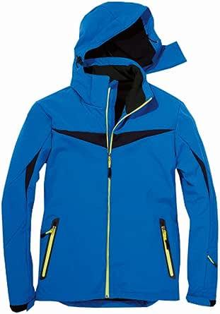 Softshell Jacket Men S Winter Snow Jacket Blue M Bekleidung