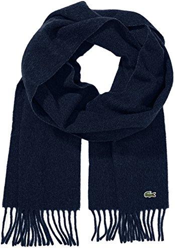Lacoste Herren Re3140 Schal, Blau (Marine), One size (Herstellergröße: TU) Preisvergleich