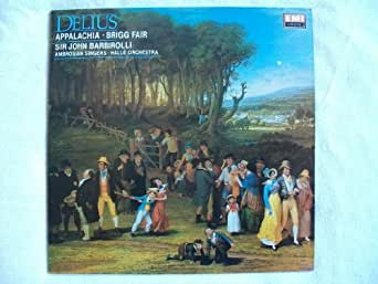 EMX 412081 Delius Appalachia / Brigg Fair Halle Orchestra Barbirolli LP