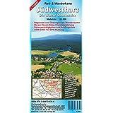 Südwestharz: Die Harzer Sonnenseite Rad- und Wanderkarte 1:25 000