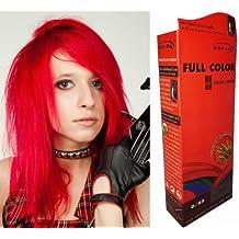 Achat coloration cheveux rouge vif