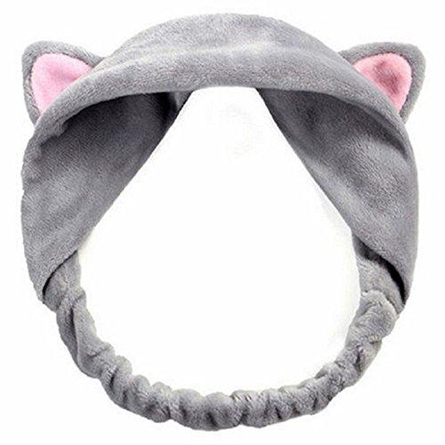 Laat - Diadema elástica con orejas de gato