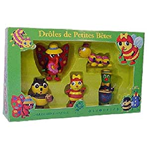 Plastoy - 60823 - Coffret- Droles De Petites Betes N° 1 5 Figurines