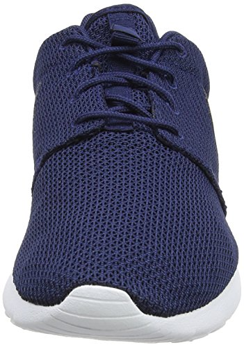 Nike Nike Rosherun, Baskets mode homme Bleu (Midnight Navy/Black-White)