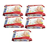 #3: Pigeon Baby Extra Soft Wipes, Chamomile 80 Pcs Per Pack (5Pack)