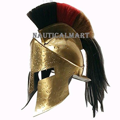 Queen Messing Spartan King Leonidas 300Armor Helm von (Queen 300 Kostüm)