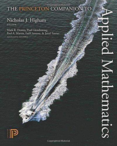 The Princeton Companion to Applied Mathematics
