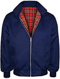 Sians Fashions Brand New Men's Classic Vintage Retro Mod Scooter 1970's Bomber Harrington Trendy Smart Classic Jacket S-XXL