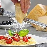 Housesweet multifunzione grattugia limone frutta pelapatate strumento Silver