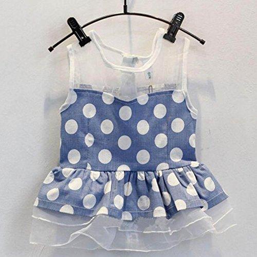 NK store koreanische Kinder Mädchenkleidung stellten, Sommeranzug (ärmellos),120cm