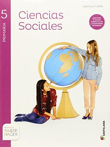CIENCIAS SOCIALES + ATLAS CASTILLA Y LEON 5 PRIMARIA SANTILLANA - 9788468088211 por Aa.Vv.