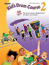 Alfred's Kid's Drum Course, Bk 2: The Easiest Drum Method Ever! (Book & CD)