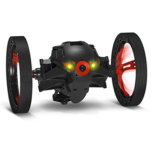 Parrot Jumping Sumo Minidrone (WiFi, Wide Angled Kamera) schwarz