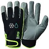 GRANBERG 107.4297W-8–PREMIUM QUALITÄT–– 12Paar Bundle EX Winter gefüttert Montage Wasserdichte Handschuhe, microskin Shield Material, Größe 8, Medium (12Stück)