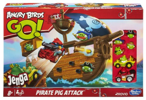 Image of Angry Birds Go Pirate Pig Attack Board Game
