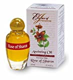 Holy Land Market Flor de Rosa de Sharon unción Aceite-Aroma de Jerusalén (.32120ml)