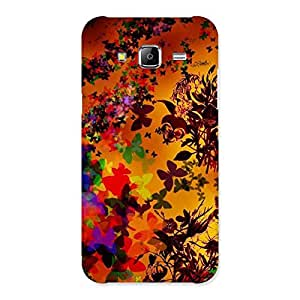 Neo World Butterfly Design Back Case Cover for Samsung Galaxy J5