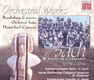 Bach - Made in Germany Vol. VIII (Orchesterwerke)