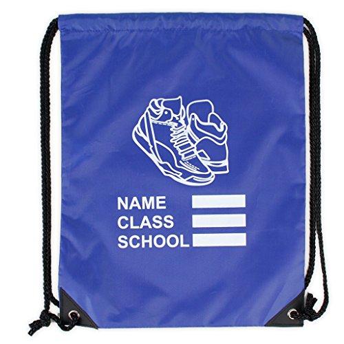 ONLY Uniform Shoe Bag Kordelzug PE Gym Set Kinder Schule Carry Sack (Pe-uniformen)