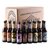 Wacken Brauerei Göttergabe - 18 x 0,33l Beer of the Gods - Craftbeer Paket - Craft Beer Set Bierbox  Geschenkset Bier