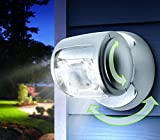 Wireless LED Motion Sensor Porch Light - Super Bright, Motion Sensor and with Auto Timer. Water Proof, Security Light used Outdoors. Extra Bright Light Lamp Suitable for Garden, Outdoor, Fence, Patio, Deck, Yard, Home, Driveway, Stairs, Outside Wall and Many More.