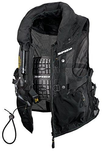 Spidi Motorrad-Safety Protection Neck DPS Tex Vest, Schwarz, Größe S