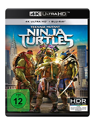Teenage Mutant Ninja Turtles - 4K UHD [Blu-ray]