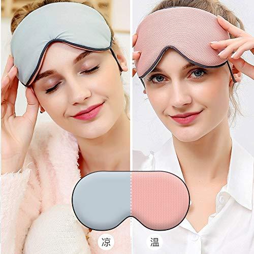 Doppelseitig verstellbare atmungsaktive Reise-Schutzbrille für Damen und Herren coole doppelseitige Kirschpulver