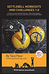 Kettlebell Workouts and Challenges 1.0: For the at-home kettlebell enthusiasts, MMA and BJJ fighters, and crossfitters that use their open box time for kettlebell WODs