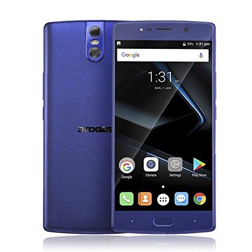 """DOOGEE BL7000 sbloccato 4G smartphone doppio SIM sbloccato telefoni cellulari 5.5""""FHD Android 7.0 MTK6750T octa core 4GB RAM 64 ROM 13.0MP + 13.0MP macchina fotografica GPS OTA cellulare di impronte"""