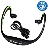 #10: Captcha MPBL-020 Bluetooth Sports Neckband Earphones for Android/iOS Devices (Color may vary)
