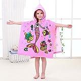 Best Bath Towel For Baby Girls - Addfun®Microfibre Kid's Cartoon Hooded Bath Towel Absorbent Children's Review