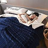 Leoie Thicken Berber Fleece Blanket Double Layer Plush Fleece For Beds Sofa Throw Blanket Bedspread Jing Yuan