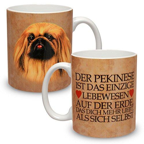 Kaffeebecher mit Motiv Hund Große XXL Tasse Pekinese