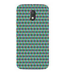 HiFi Store Designer Phone Back Case Cover Moto E3 Power :: Motorola E3 Power-2016 ( Colorful Pattern Design )