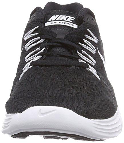 Nike LunarTempo Herren Laufschuhe Schwarz / Weiß / Weiß (Schwarz / Weiss-Weiss)