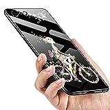 Coque Compatible pour iPhone 6 Plus/iPhone 6S Plus Revêtement Arrière en 9H Verre...