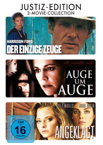 Bild von Der Einzige Zeuge / Auge Um Auge / Angeklagt [3 DVDs]