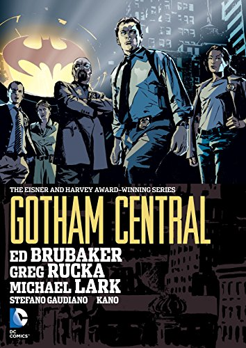 Gotham Central Omnibus HC por Ed Brubaker