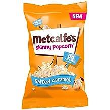 Metcalfe's Skinny Popcorn Salted Caramel 25g
